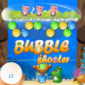 Dinosaur Puzzle Bubble Shooter