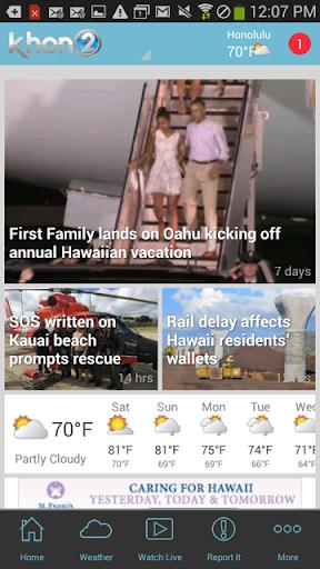 KHON2 - Honolulu News Weather