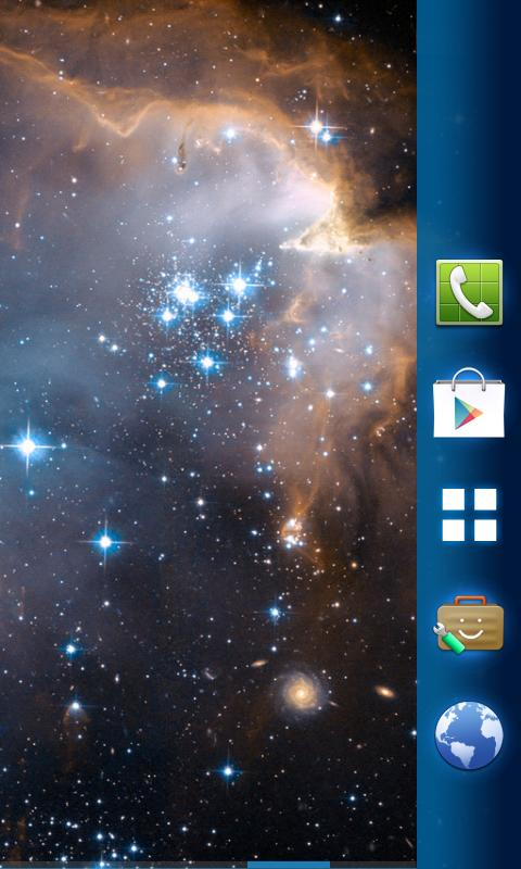 Supernova Theme- screenshot
