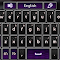 GO Keyboard Purple Sleek 3.1 Apk