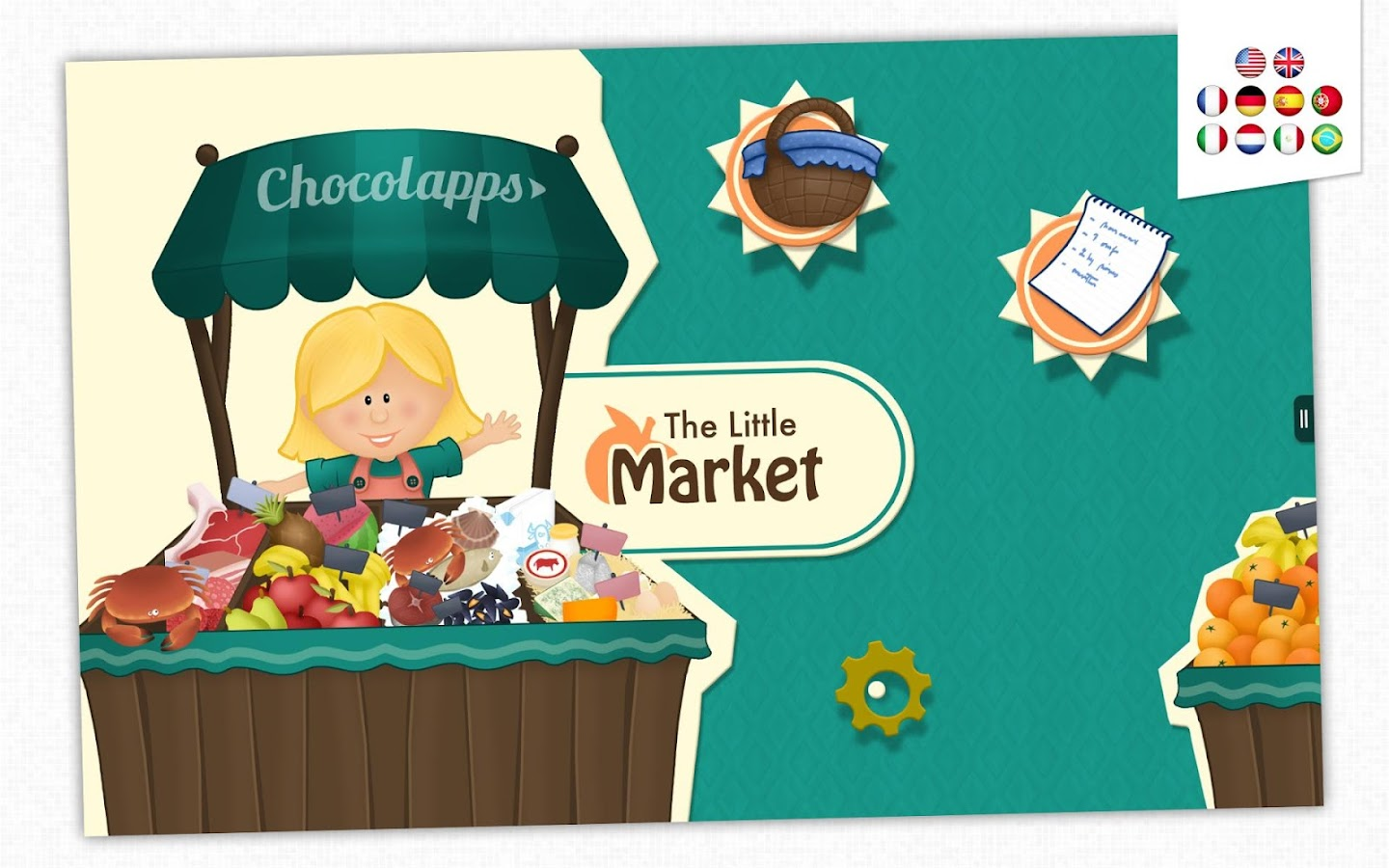 The Little Market - Kid's Game- screenshot
