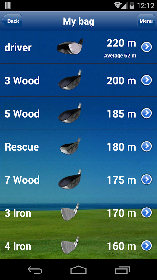 Mobitee GPS Golf Free- screenshot
