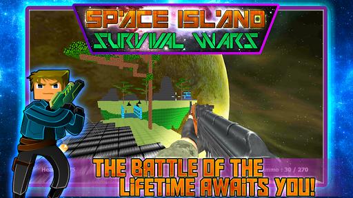 Space Island Survival Wars