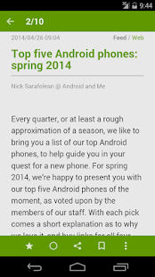 FeedMe (RSS Reader)- screenshot thumbnail