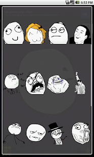 Meme free emoticons for chat - screenshot thumbnail