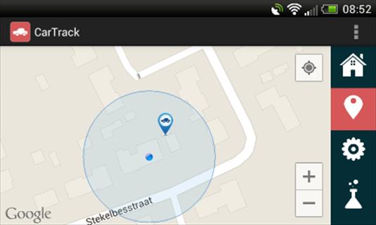 CarTrack - screenshot
