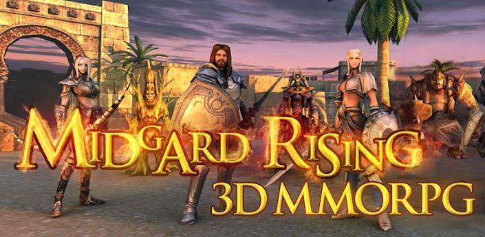 Midgard Rising 3D - отличная 3D MMORPG для android скачать