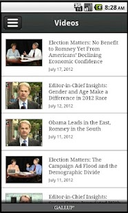 Gallup News- screenshot thumbnail