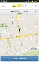 Screenshot of Taxi 8111 - Salzburg Taxi