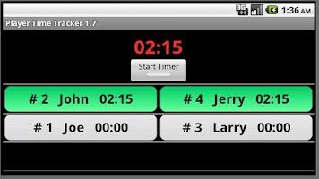 Screenshot of Player Time Tracker