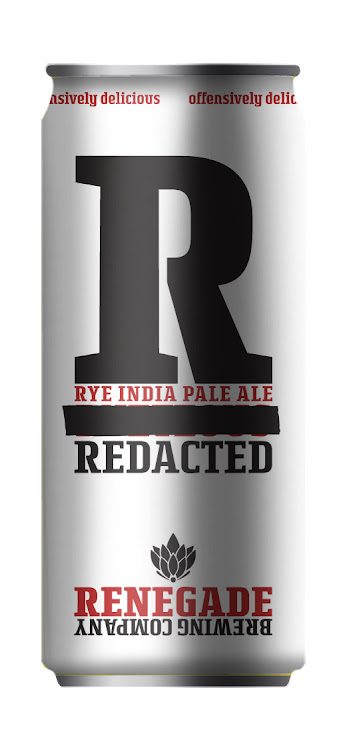 Logo of Renegade Redacted Rye IPA