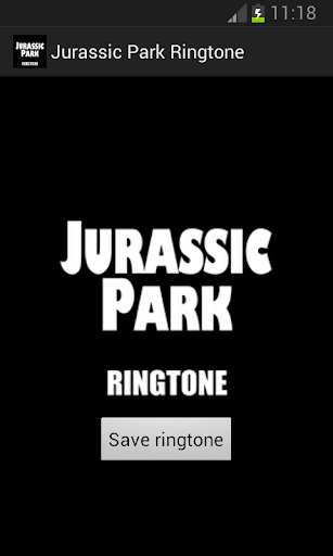 Jurassic Park Ringtone
