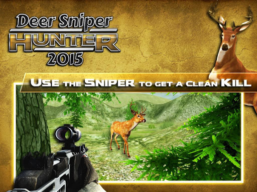 Deer Sniper Hunter 2015