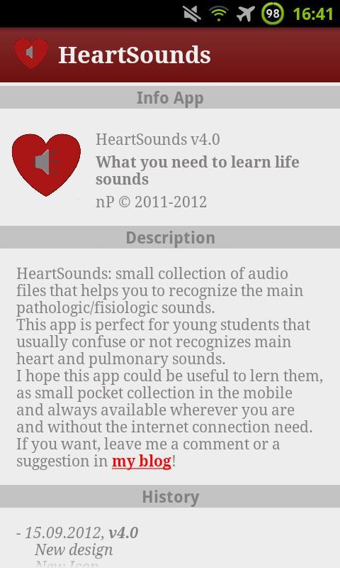 HeartSounds - Stethoscope Full- screenshot