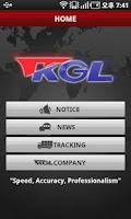 Screenshot of KGL