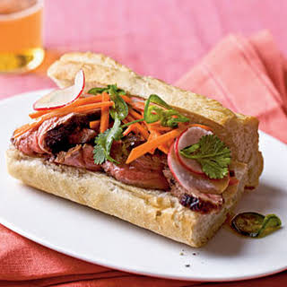 Banh Mi-Style Roast Beef Sandwiches.