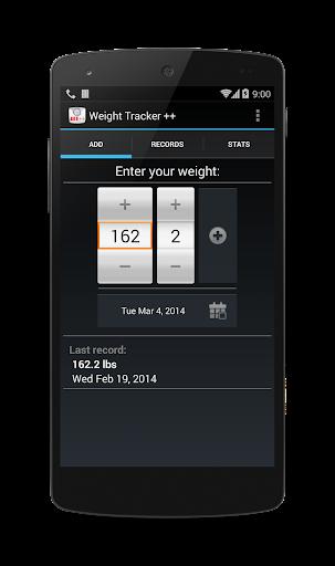 Weight Tracker ++