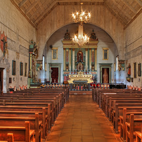 Mission San Jose, Fremont, California, USA by Arvind Mallya - Buildings & Architecture Places of Worship ( church, hdr, mission san jose, fremont, pews, missions of california,  )