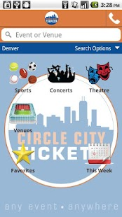Circle City Tickets - screenshot thumbnail