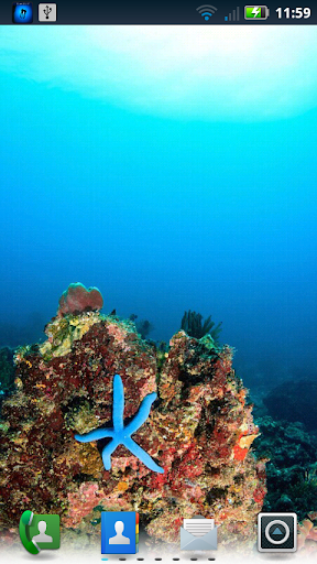 Scuba Shots Live Wallpaper