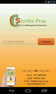 Service proz- screenshot thumbnail