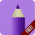 Purple Draw Free icon