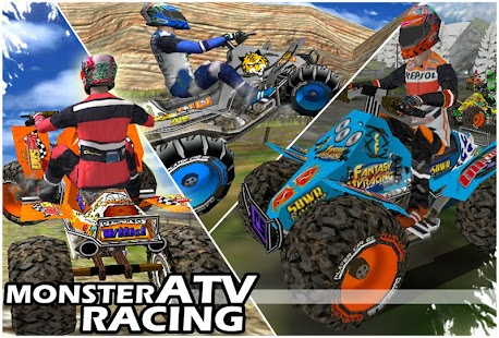 Monster ATV Racing 3D Game