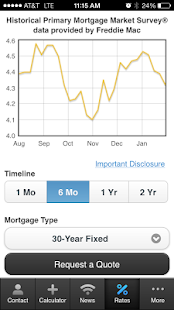 Carol DeFazio's Mortgage Mapp - screenshot thumbnail