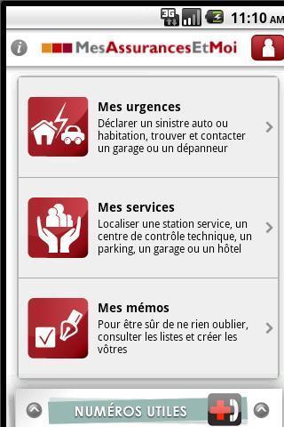 Assurance - screenshot
