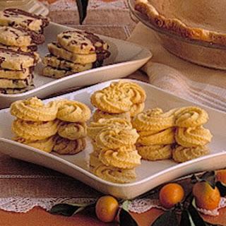 Orange-Cornmeal Cookies