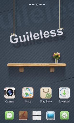 Guileless GO Launcher Theme