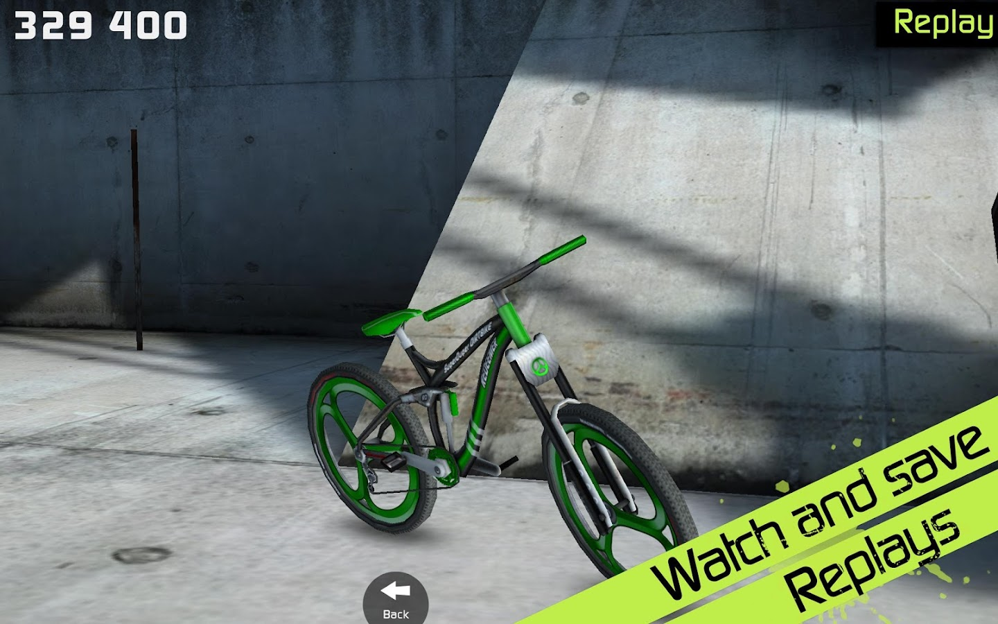 Screenshots of Touchgrind BMX for iPhone