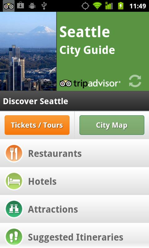 Seattle City Guide - screenshot