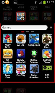 i Like Red GO Launcher Theme - screenshot thumbnail