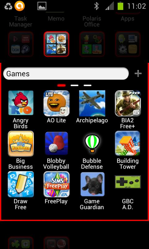 i Like Red GO Launcher Theme - screenshot