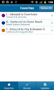 Muni Tracker - screenshot thumbnail