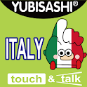 YUBISASHI English-Italy logo