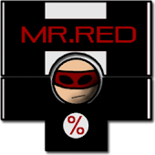 Mr. Red percentage calculator