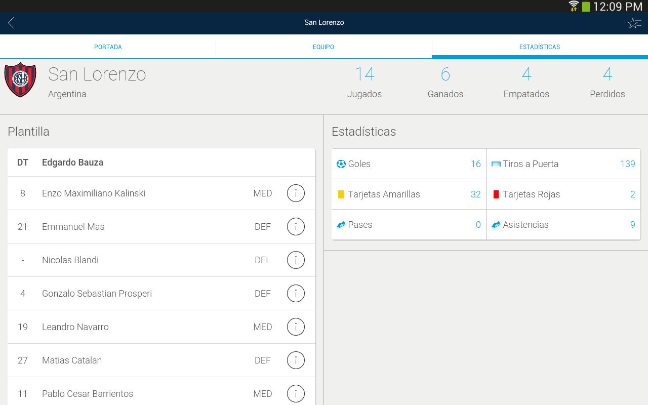 Copa Bridgestone Libertadores - screenshot