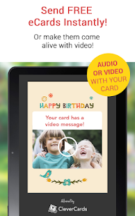 CleverCards Birthday Cards- screenshot thumbnail