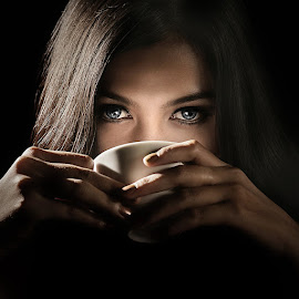 Love Potion by Lucky E. Santoso - People Portraits of Women