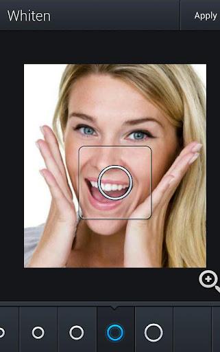 皮膚美白フォトアプリ