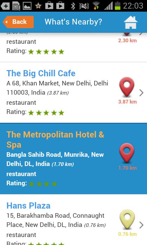 Delhi City Guide- screenshot