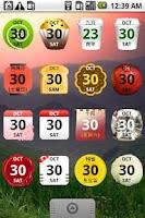 Screenshot of Calendar Widget 2 Plus