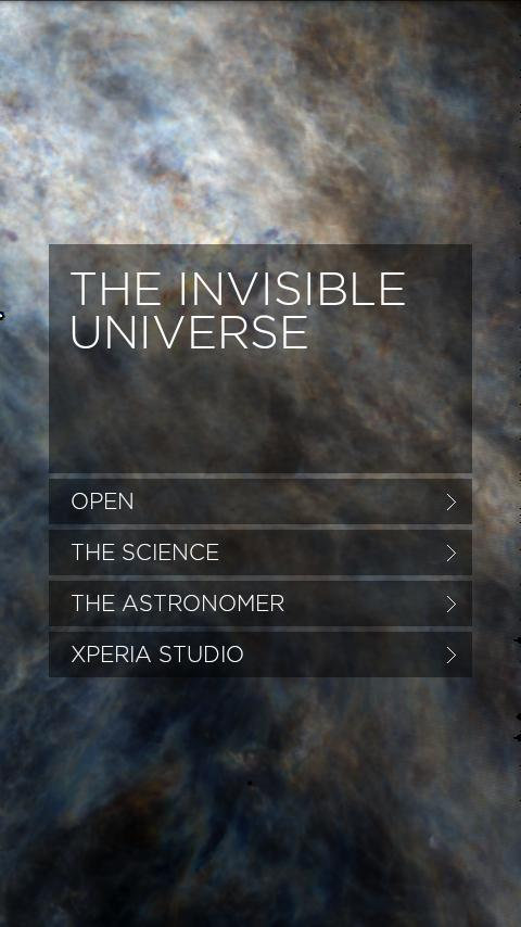 The Invisible Universe - screenshot