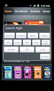 Galactic Night [root, Samsung] - screenshot thumbnail