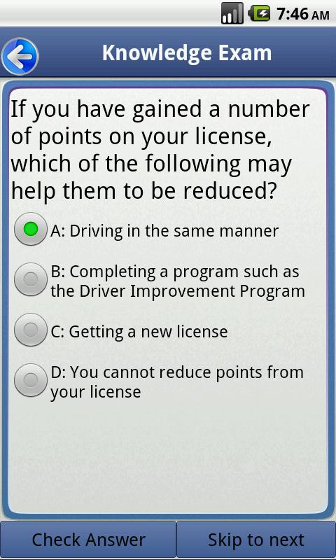 Driver Improvement Exam Answers Bertyldiva