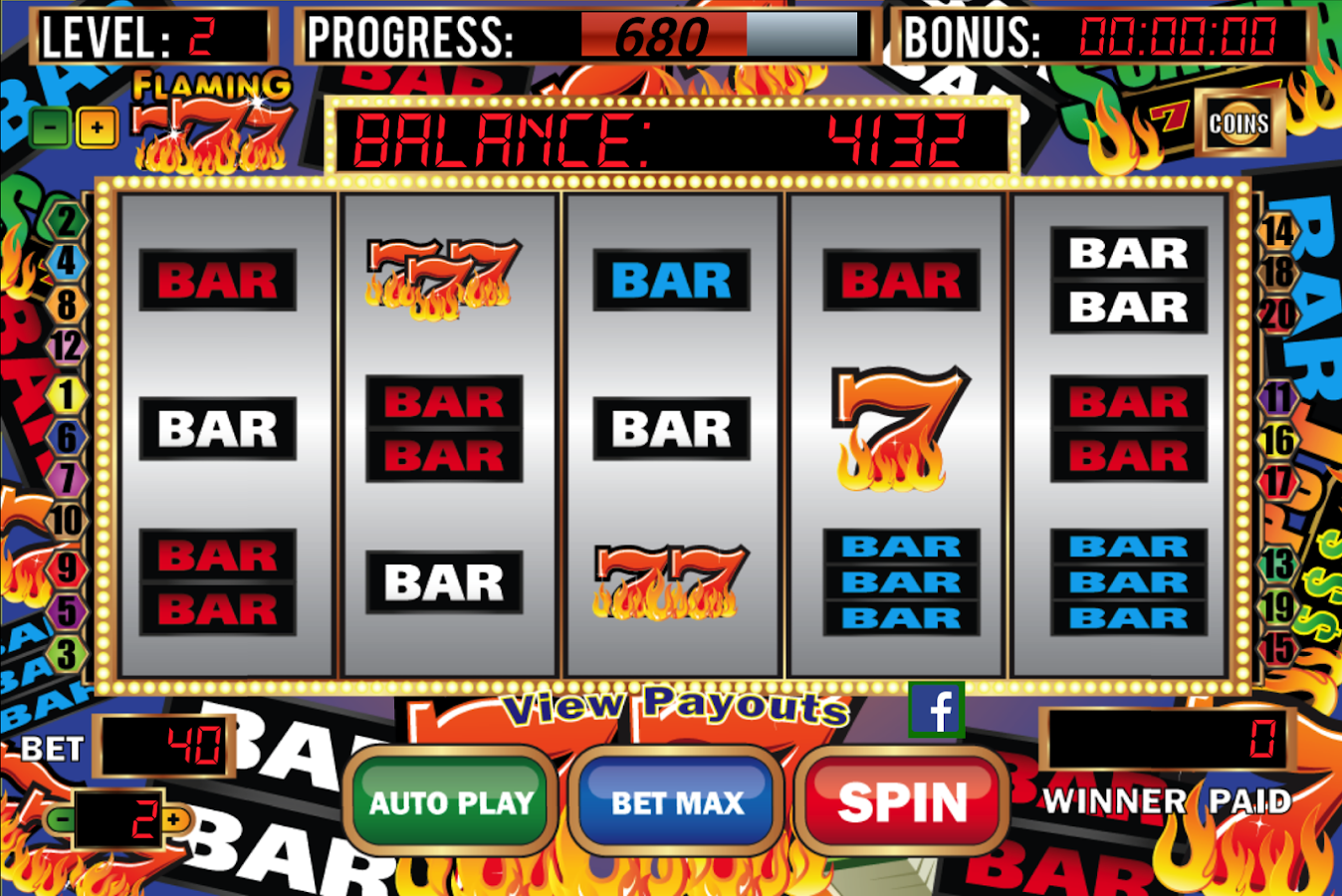 free casino games vegas