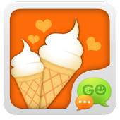 GO SMS Pro Dessert House Theme