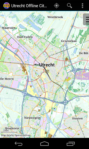 Utrecht Offline City Map